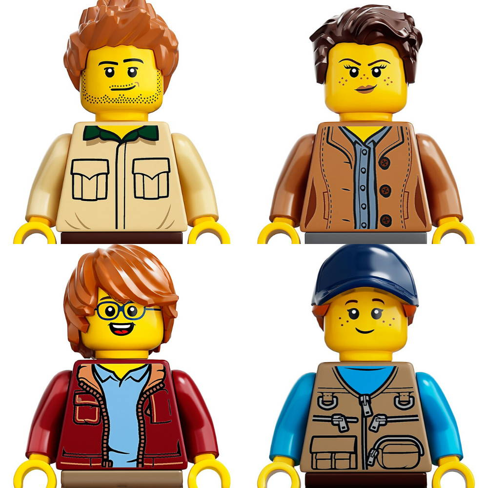 LEGO Tree House Minifigures