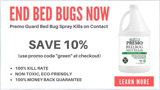 Premo guard bed bug spray sponsor.  End bed bugs now