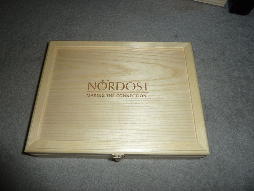 Nordost  Tyr speaker cable 2m shotgun Free ship US48 save $$$$$