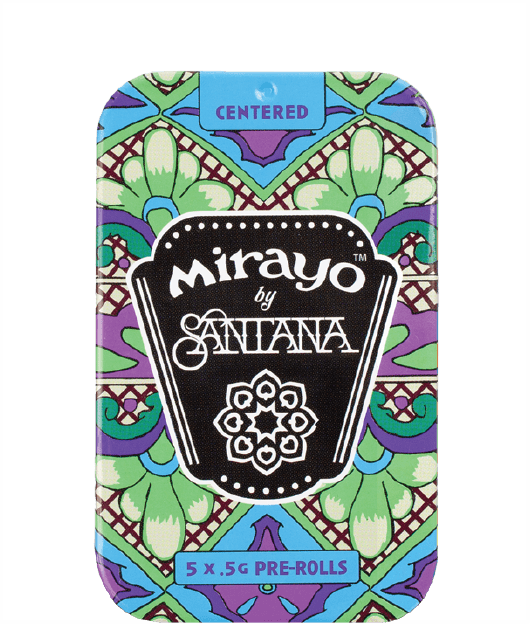 image of Mirayo indica cannabis tin