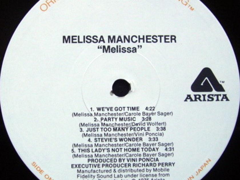 ★Audiophile★ MFSL / MELISSA MANCHESTER, - Melissa, NM!