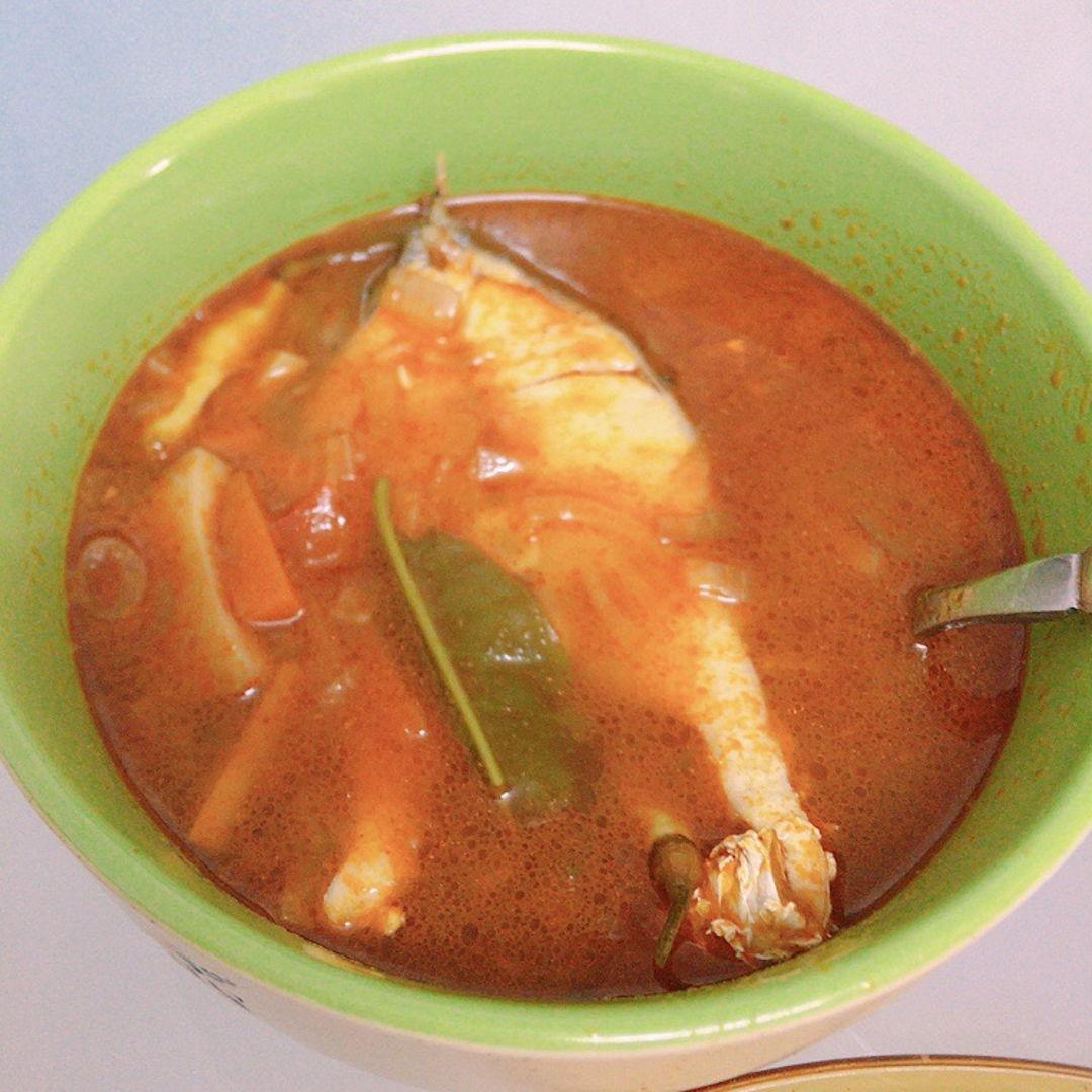 Tomyum fish.