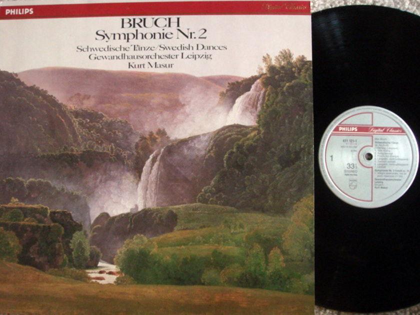 Philips Digital / MASUR, - Bruch Symphony No.2,  NM!