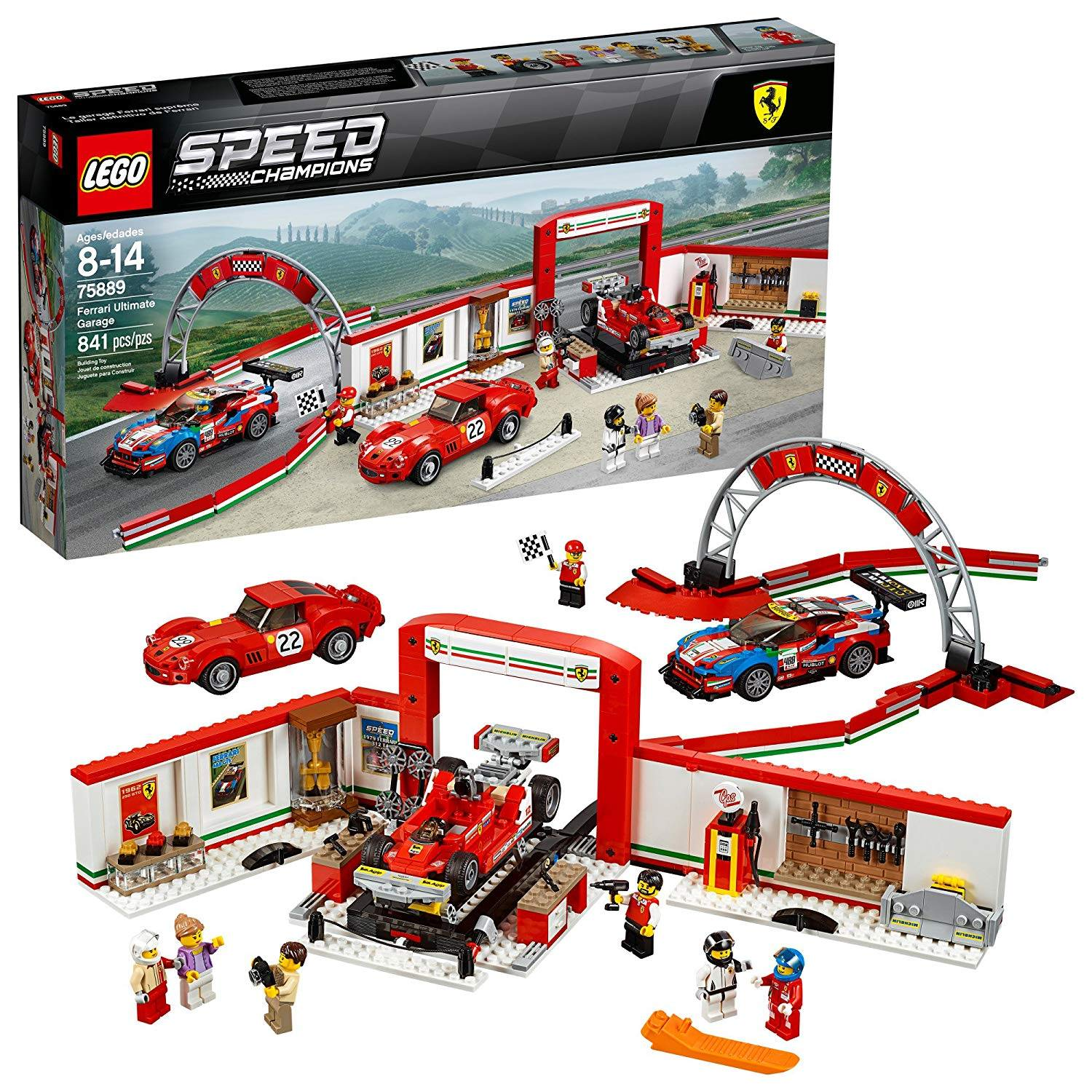 LEGO 75889: Ferrari Ultimate Garage