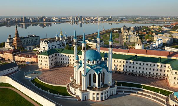 Экскурсия по Казани с посещением Казанского Кремля (10:00, 13:00, 16:30)