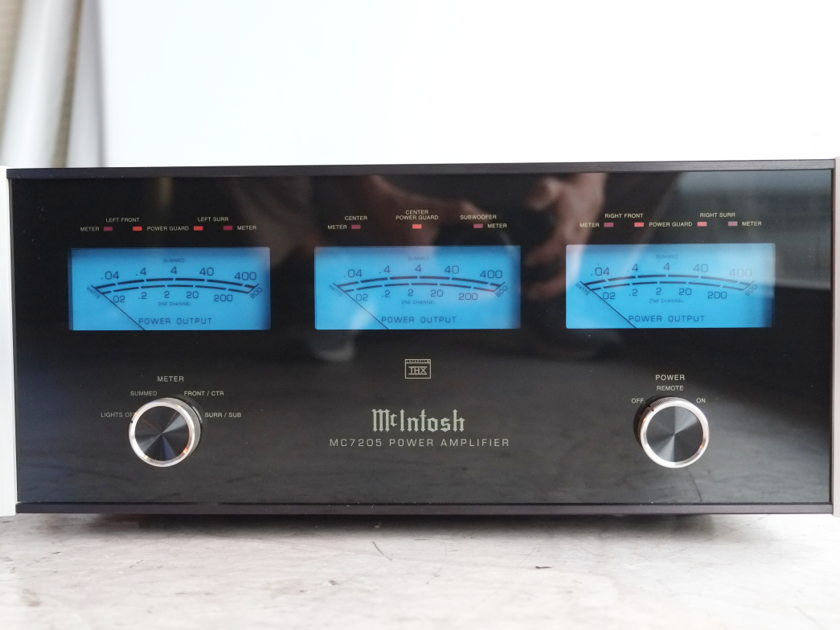 McIntosh  MC7205 5 CHANNEL AMPLIFIER-PRICE REDUCED