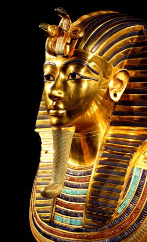 peinture par numero personnalisée d'un pharaon transformé en pop art