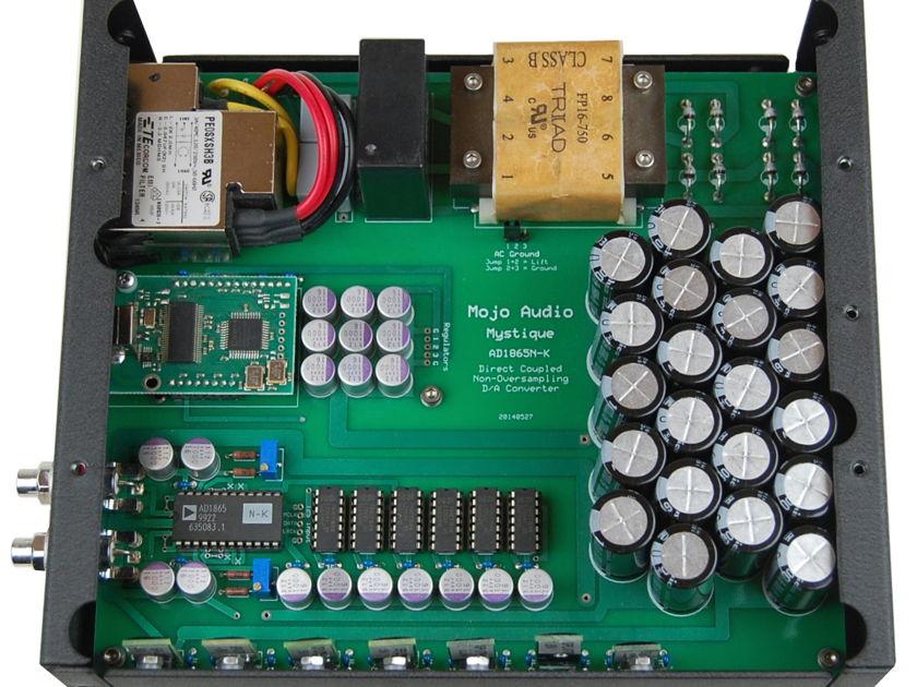 Mojo Audio Demo Mystique NOS AD1865N-K DAC v1.0 w/ 24-Bit 192KHz Input