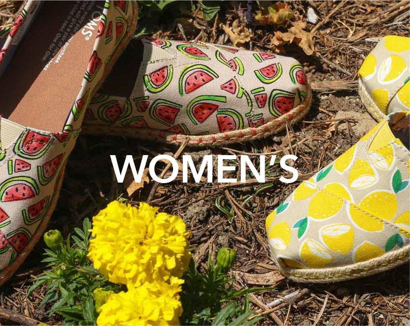 Women's Toms | Tiltedsole.com