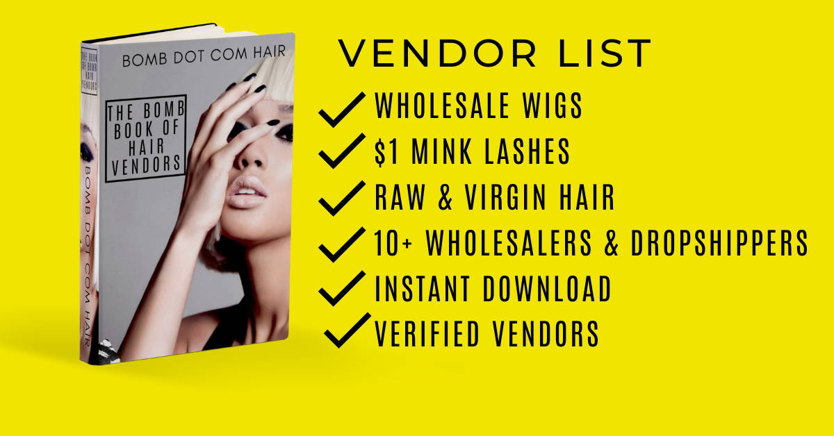 wholesale hair vendor list