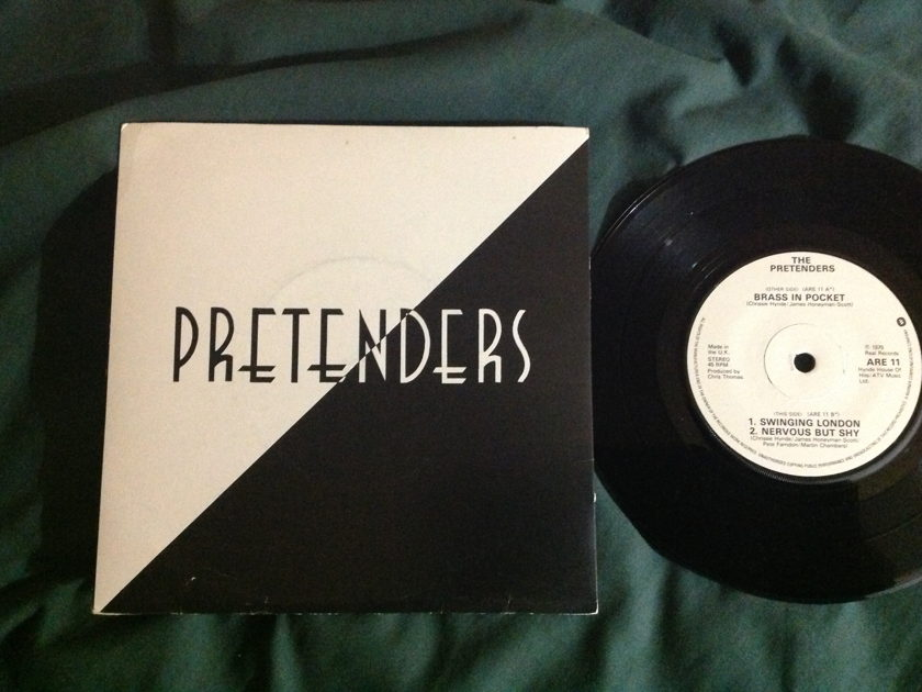 Pretenders - Brass In Pocket UK EP Real Record With Sleeve