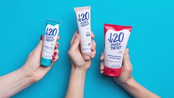Under Twenty cosmetics