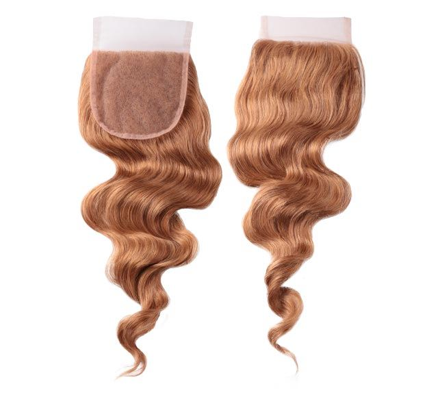 Loose Wave Dark Blonde Closure Mayvenn