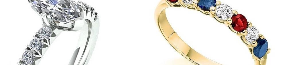 Bespoke handmade diamond  rings -Pobjoy Diamonds