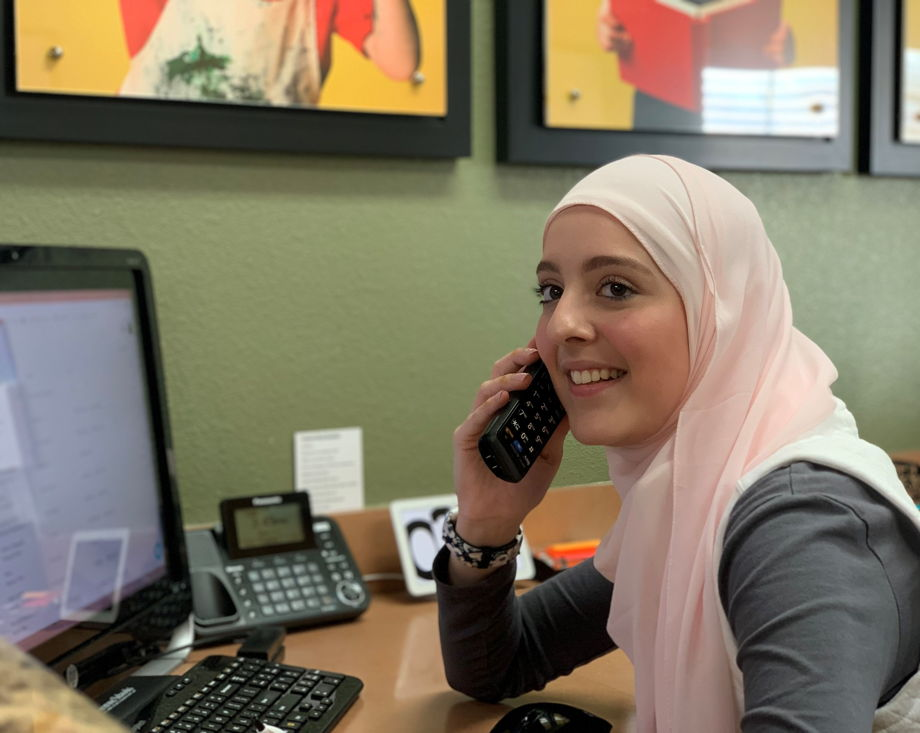 Ms. Zahid , Administrative Assistant
