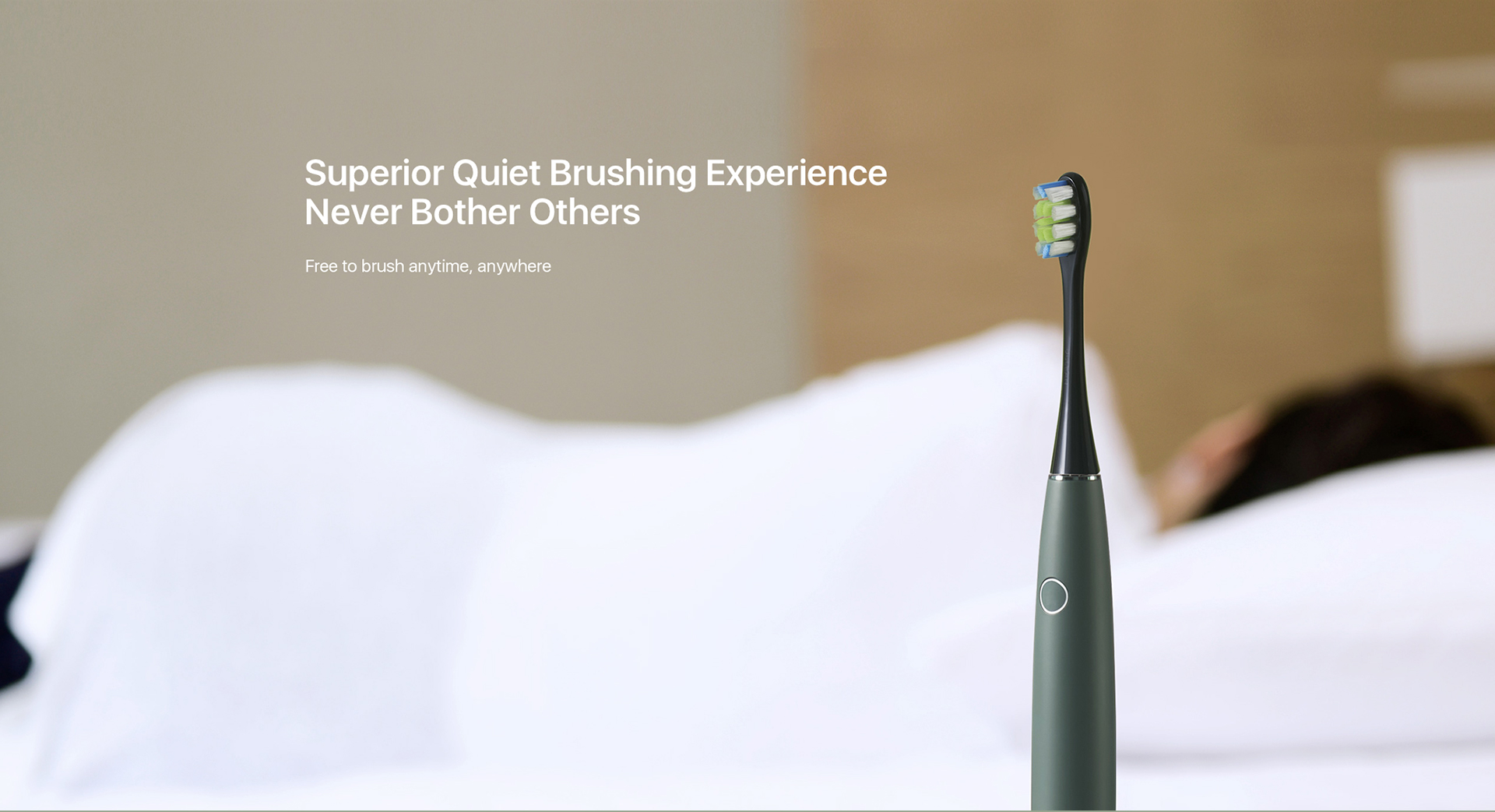 Superior Quiet Brushing Experience Never Bother Others