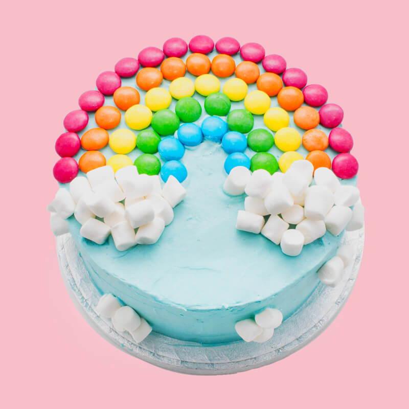 Ultimate rainbow cake