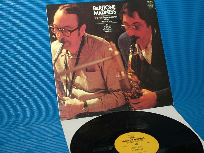 "NICK BRIGNOLA SEXTET -  - ""Baritone Madness"" - Bee Hive 1978 1st pressing"