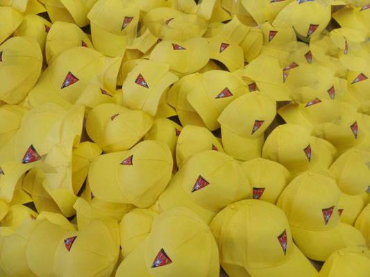 Caps mit Ihrem Logo besticken lassen gelb | Werbe-Welt.Shop