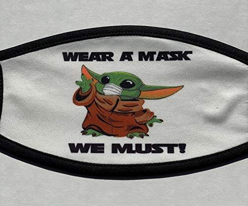 Face Mask for Baby Yoda for Babies