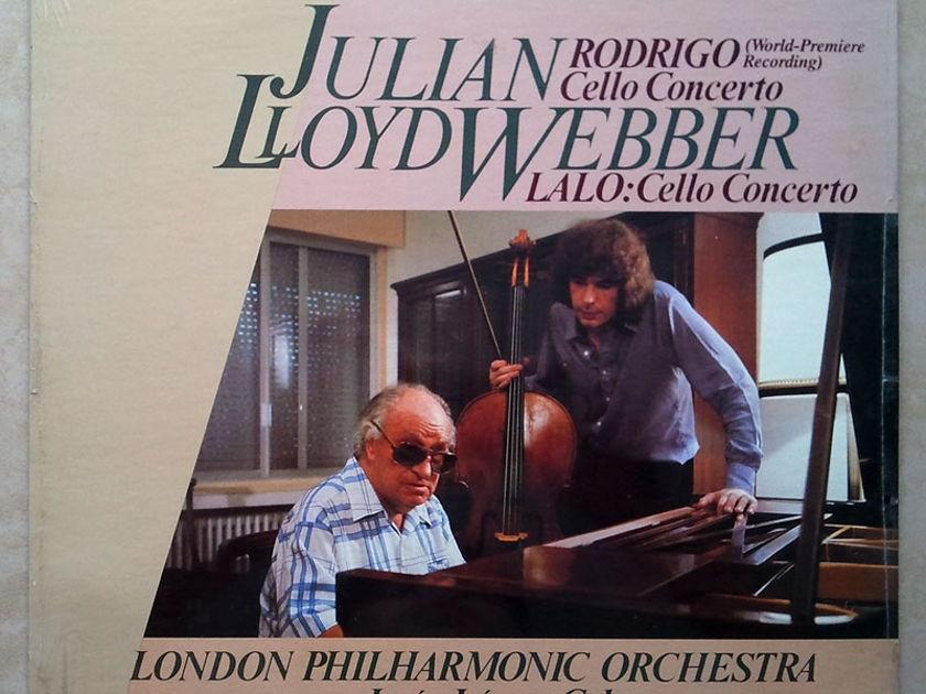 Sealed/RCA/Julian Lloyd Webber/Rodrigo - & Lalo Cello Concertos / Jesus Lopez-Cobos, conductor