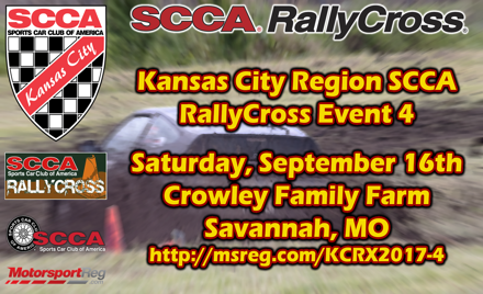 KCR RallyCross #4 - 2017