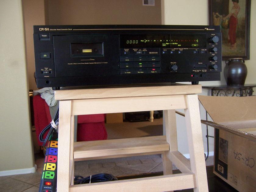 NAKAMICHI Black CR-5A Cassette Deck