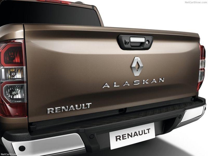 Renault Alaskan traseira