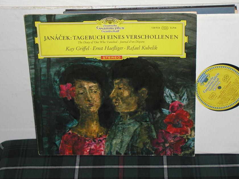 Kubelik/Griffel - Janacek DGG Tulip RED  lettered LP