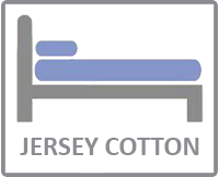Jersey cotton size