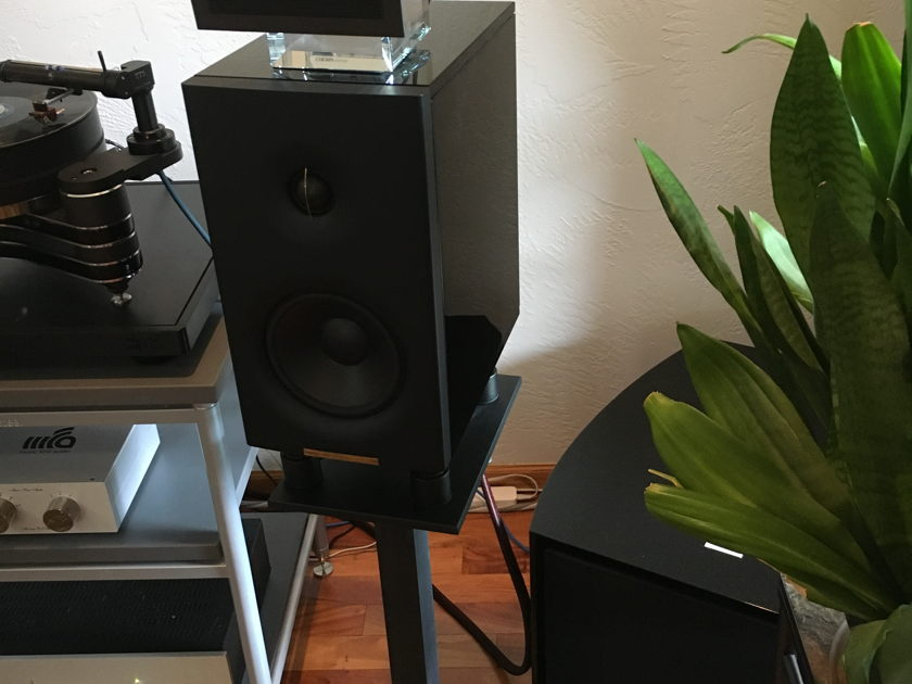 Enigma Acoustics M1 with stands and  Sopranino Tweeters