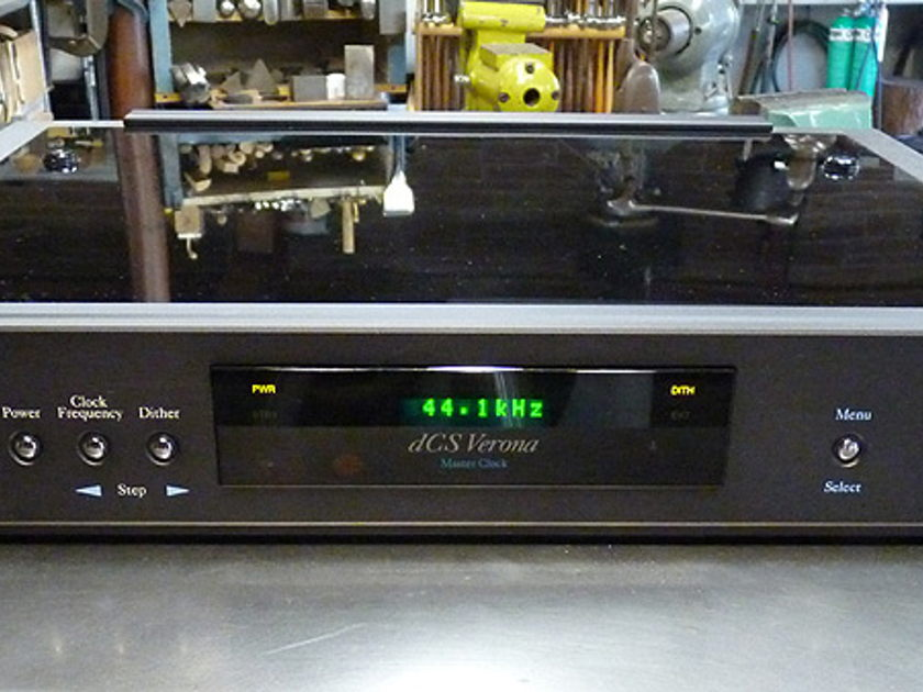 dCS Verona Master Clock in Black Finish