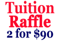 Tuition Raffle 2 for $90