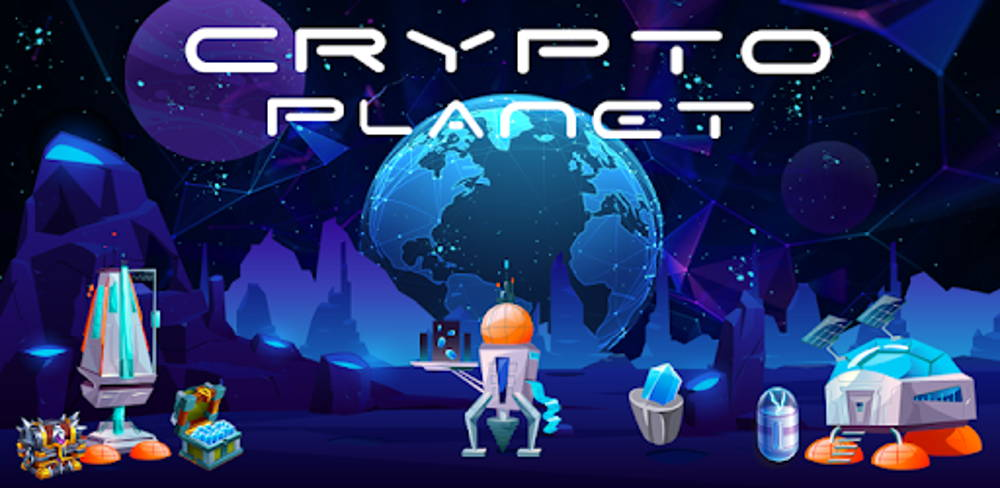 Cryptoplanet blockchain game cover