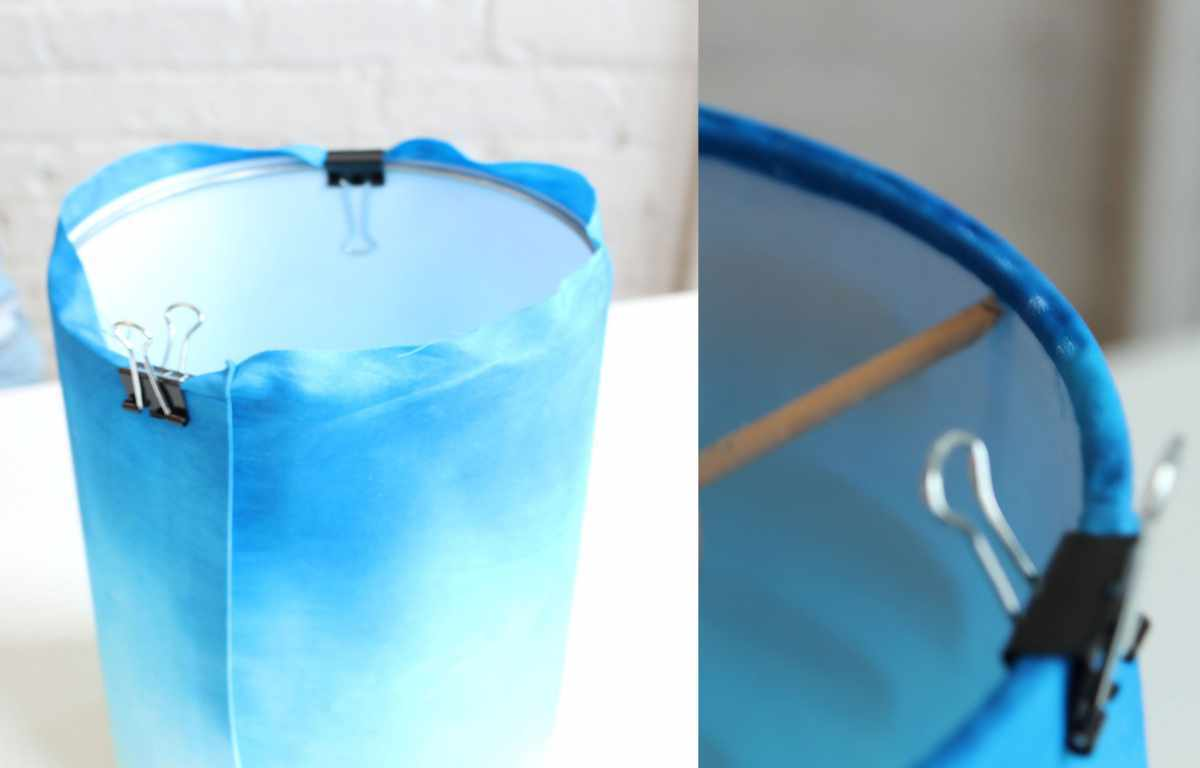 How to use adhesive, pressure-sensitive styrene to make a DIY Lampshade - Check out more great DIY lamp tutorials at http://www.ilikethatlamp.com !