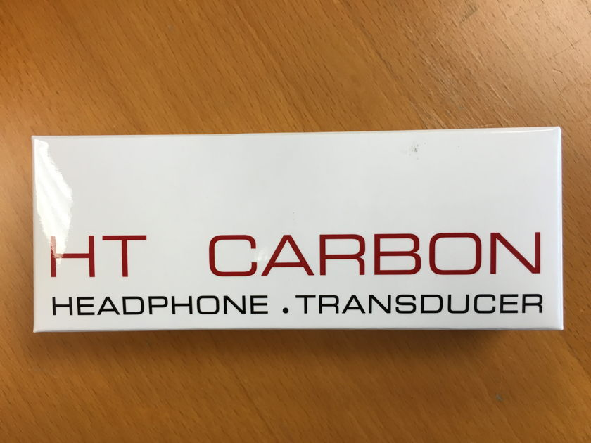 Synergistic Research HT Carbon, Headphone Transducer , Like New