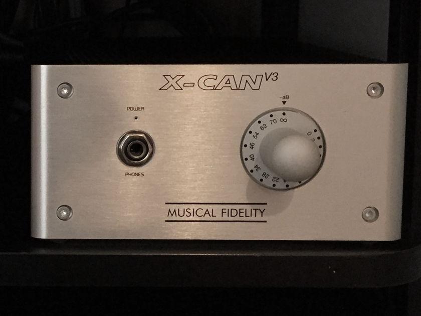 Musical Fidelity X-Can V3 Tube Hybrid Headphone Amp