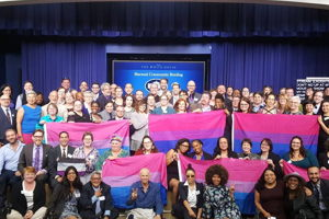 Bi Visibility at the White House!