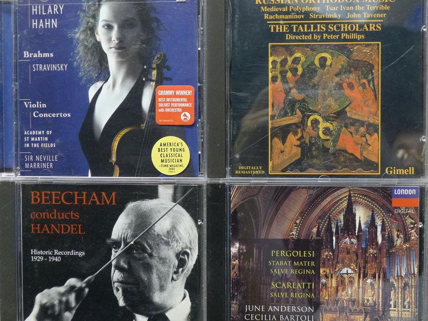 Classical CDS All Premium CDs, All M/NM 50 CDs