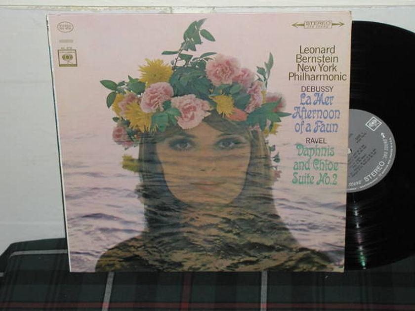 Bernstein/NYPO - Debussy/Ravel Columbia 360 1st labels LP