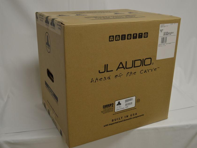 JL Audio d110 Dominion Series 750 Watt Powered Sub-woofer - BLACK GLOSS