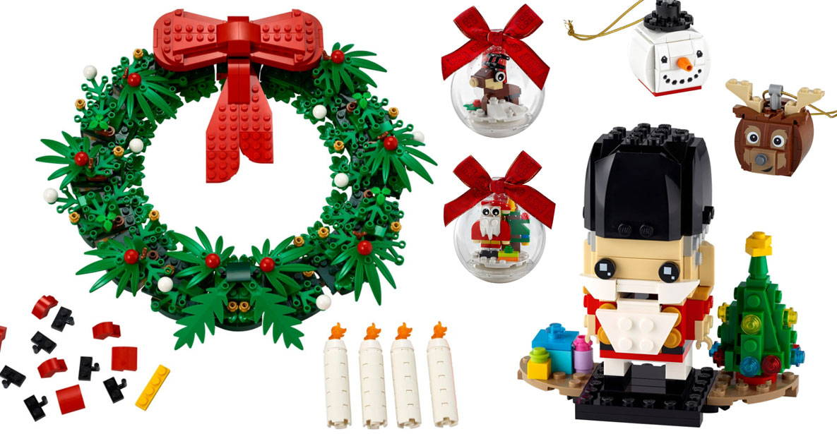 Lego Shopping Christmas Set