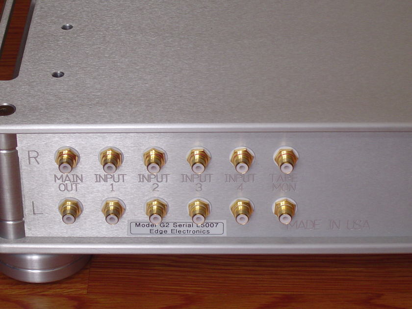 Edge Electronics G2 Preamp, Remarkable Sound & Quality,  Magical Sound