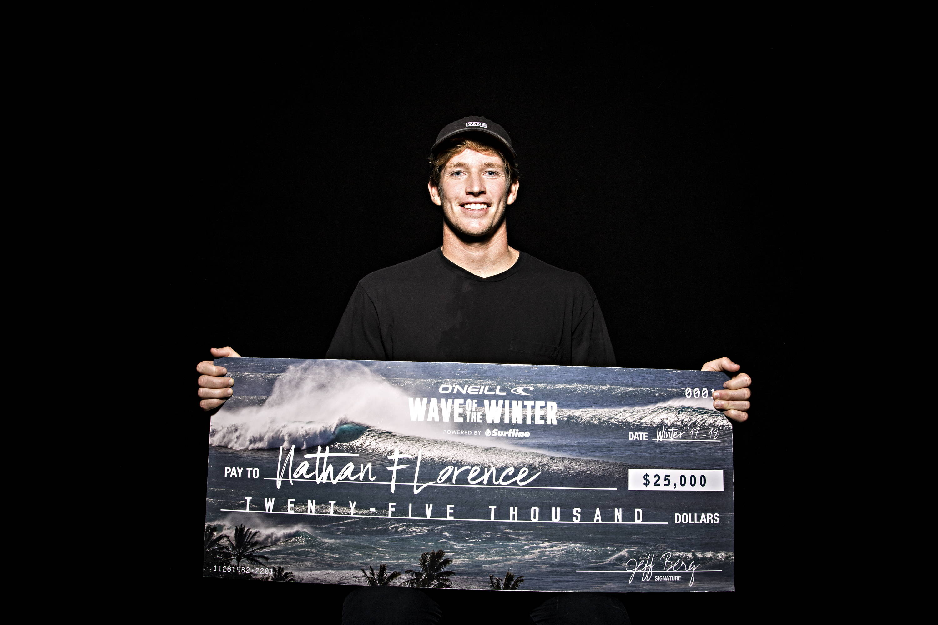 Nathan Florence Wave of the Winter Champion