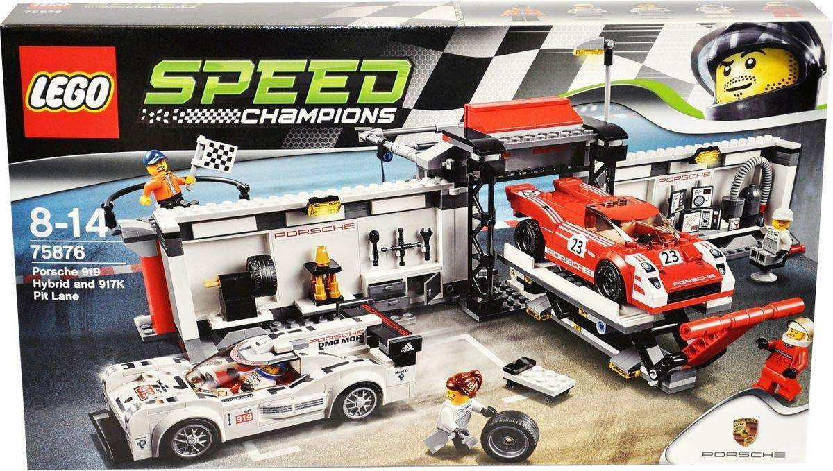 LEGO 75876: Porsche 919 Hybrid and 917K Pit Lane