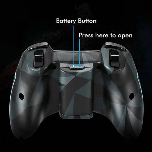 game controller with vibration