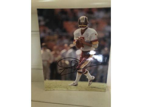 Hall of Fame NFL Player Joe Theismann Autographed Photo