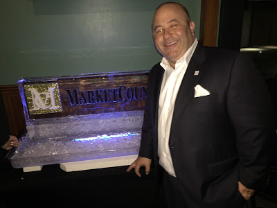 MarketCounsel's Brian Hamburger hosted a packed party at a local pub in downtown Boston.