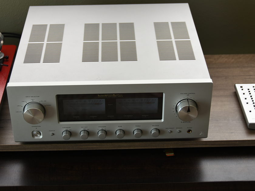 Luxman L505uX - Integrated w Phono - See Details