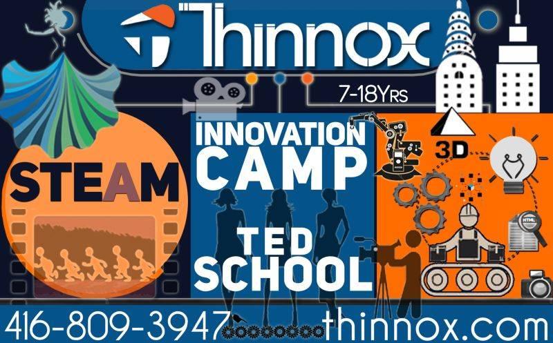 thinnox innovation camp lego